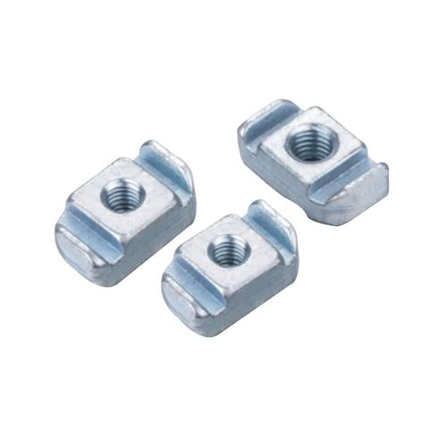 雙肋端鋼槽蓋板/方螺母