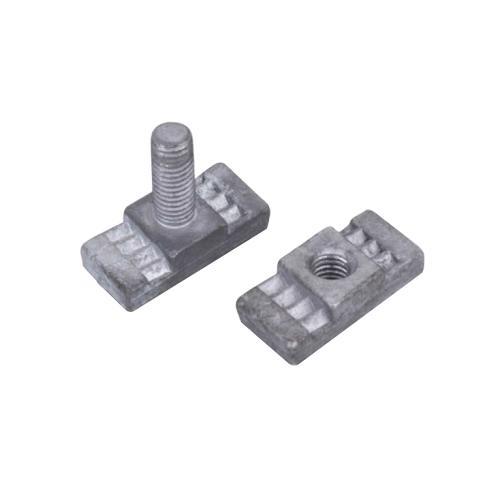 多齒T型螺栓、蓋板
