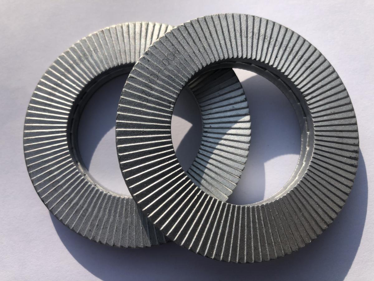 碳钢达克罗双叠自锁垫圈DIN25201