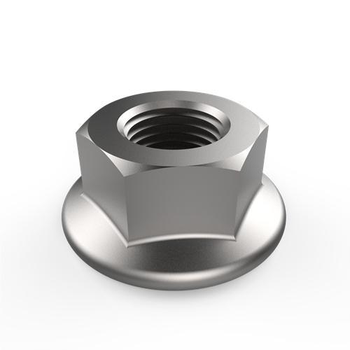 GB/T 6177.1 Hexagon nuts with flange, style 2