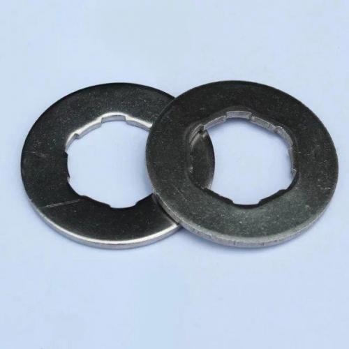 不锈钢非标垫圈(内孔凹凸)
