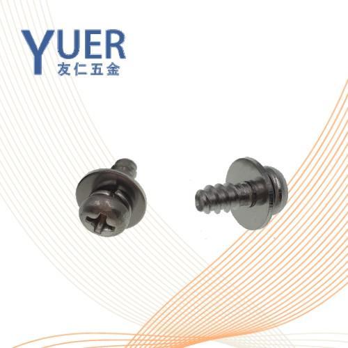 0413  精密机械用紧固件十字槽盘头螺钉、平垫和弹垫组合 GB /T9074.4