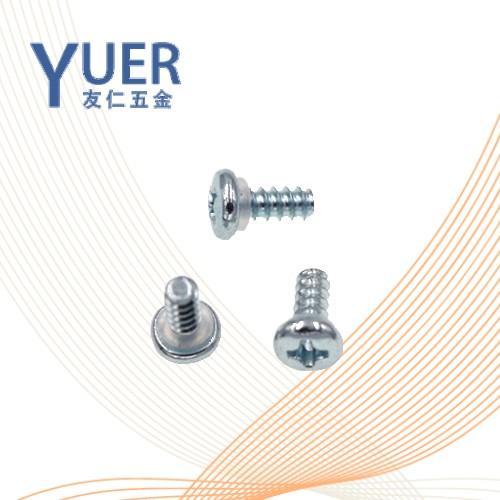 0649 精密机械用紧固件螺钉与密封橡胶圈组合 YJT /YR1089