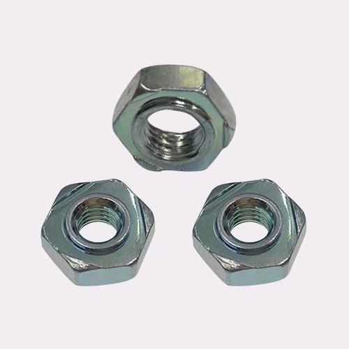 GB13681-1992 焊接六角螺母 M5