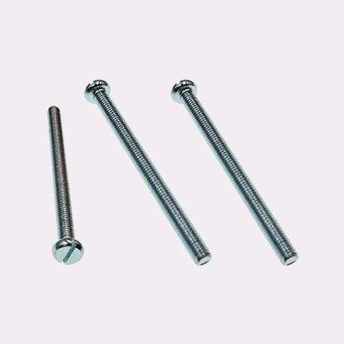 开槽盘头螺钉 平头一字螺钉 DIN 85-1990