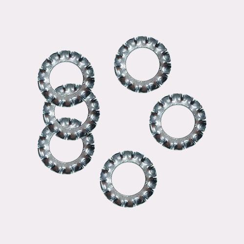 外锯齿锁紧垫圈 DIN 6798-1988