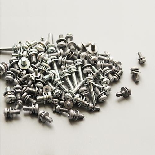 M2-M8十字槽盘头三组合螺丝小盘头螺钉和螺丝组合