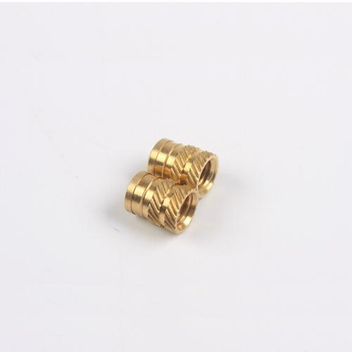 滚花铜螺母 六角铜螺母 铜嵌件
