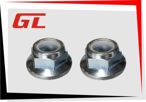 GB6183 2型非金属嵌件六角法兰面锁紧螺母