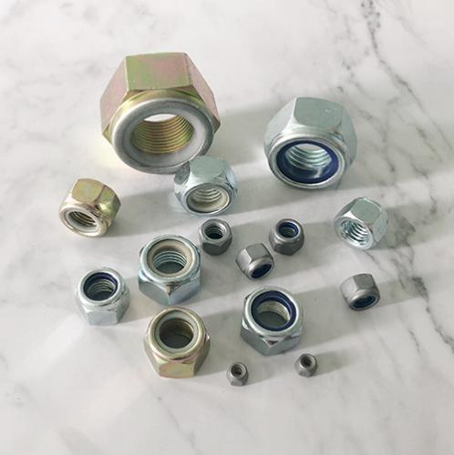 非金属嵌件锁紧加厚螺母 DIN982