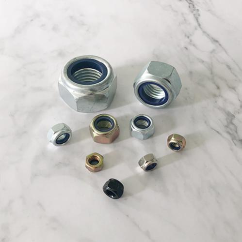 非金属嵌件薄型锁紧螺母 DIN985