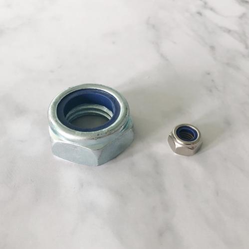 六角尼龍鎖緊薄螺母 ISO10511