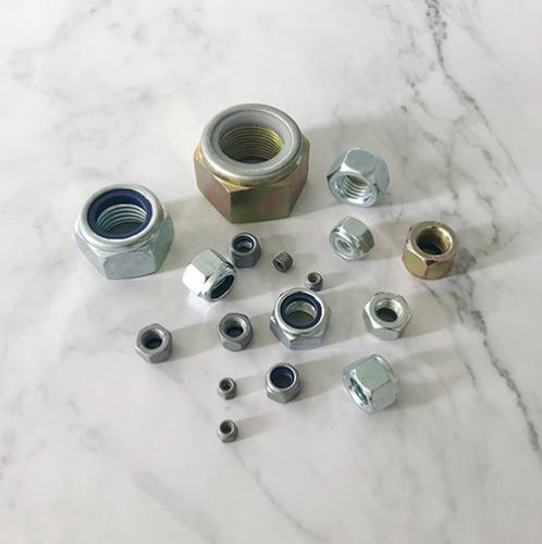 非金属嵌件锁紧加厚螺母 ISO7040