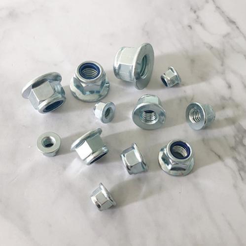 全金屬六角法蘭面鎖緊螺母 DIN6926