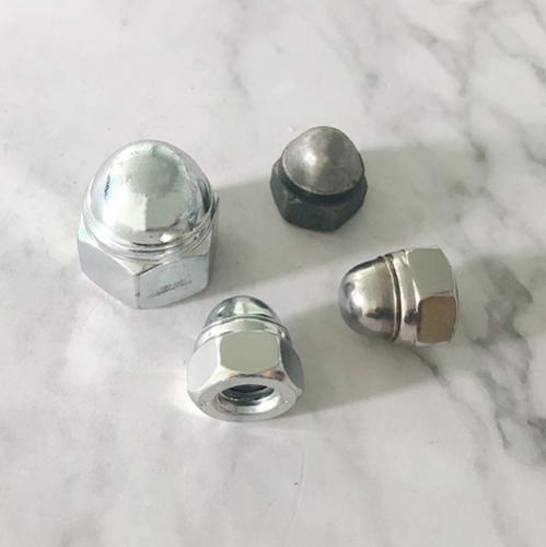 非金属嵌件六角盖形螺母 DIN986