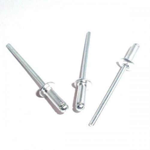 不锈钢开口型扁圆头抽芯铆钉