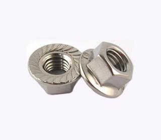 A4 DIN6923 不锈钢法兰面六角螺母