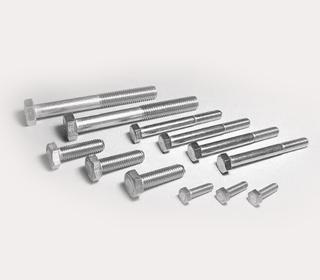 A4 DIN931 不锈钢大外六角半牙螺栓