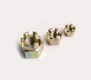 六角开槽螺母(DIN 937/DIN 979)