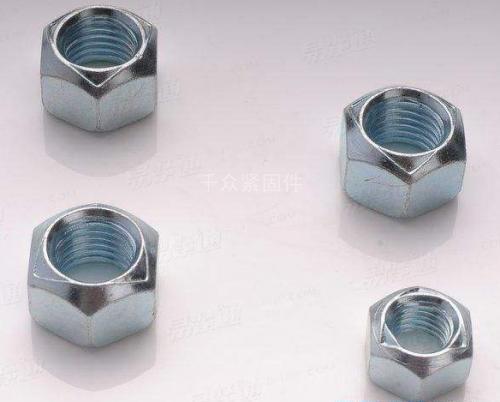 DIN980六角金属锁紧螺母 德标全金属防松螺母