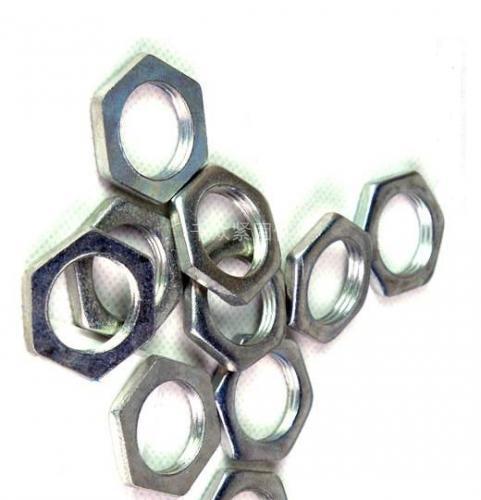 GB808六角薄螺母 六角扁螺母