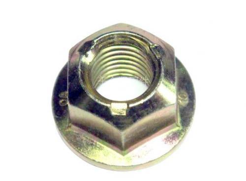 GB6187全金属六角法兰锁紧螺母  金属压点法兰防松螺母