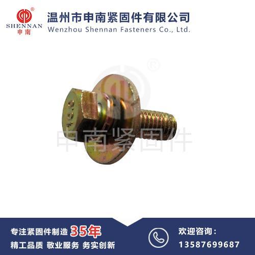 GB9074 六角頭大平墊三組合螺栓