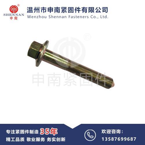 非标-六角法兰面尖头定位螺栓