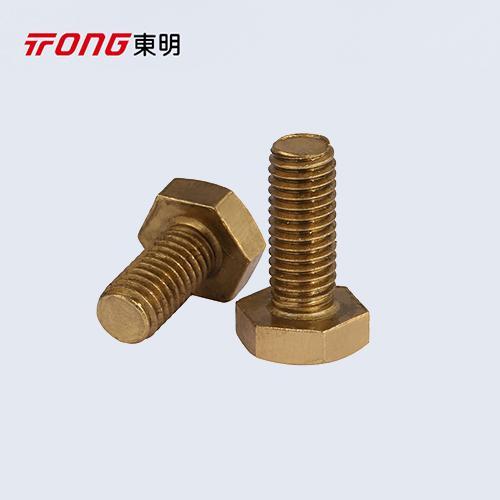 DIN933  GB5783 外六角铜螺栓