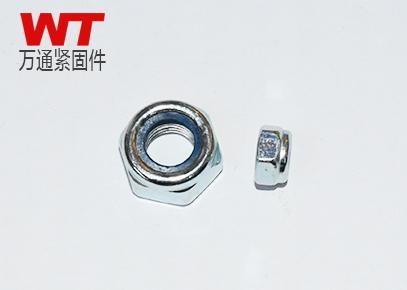 DIN985 非金属嵌件薄型锁紧螺母
