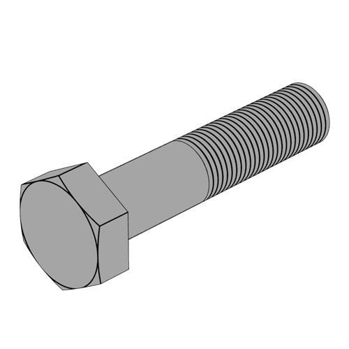 ISO4017 半牙六角頭螺栓 A4-80
