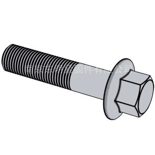 DIN1665(S) 六角头法兰面螺栓