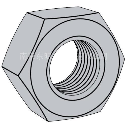GB/T6170  1型 外六角螺母