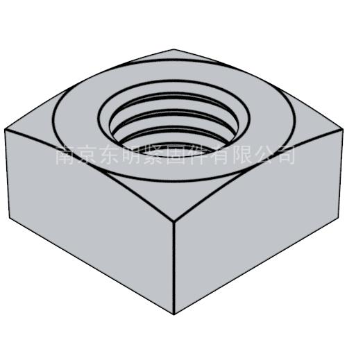 ANSIASME B 18.2.2 - 2015 重型方螺母 [Table 8]