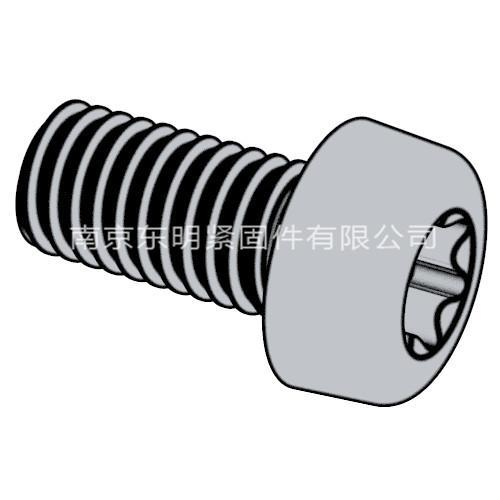GB/T 2672 - 2017 内六角花形盘头螺钉