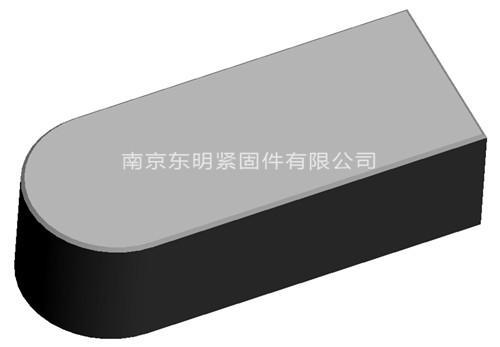 ANSI ASME B18.25.3M 米制平键(TYPEC)