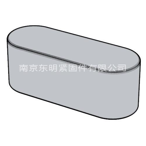 ANSI ASME B18.25.3M 米制平键(TYPEA)