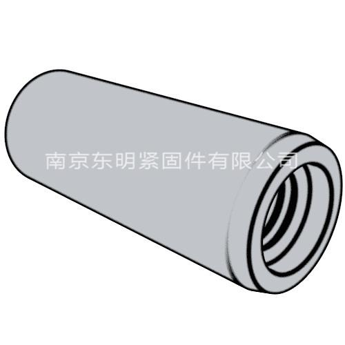 ISO 8736 - 1986 不淬硬內螺紋圓錐銷