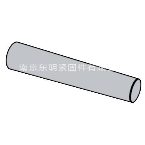 ISO 2339 - 1986 不淬硬圓錐銷 A型和B型