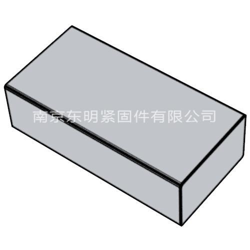 ANSI ASME B18.25.3M 米制平键(TYPEB)
