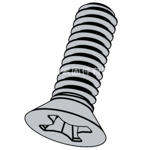 ISO 7046(-1) - 2011 4.8級十字槽沉頭螺釘