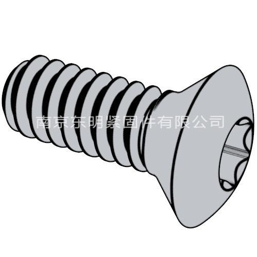 ISO 14584 - 2011 梅花槽半沉头螺钉