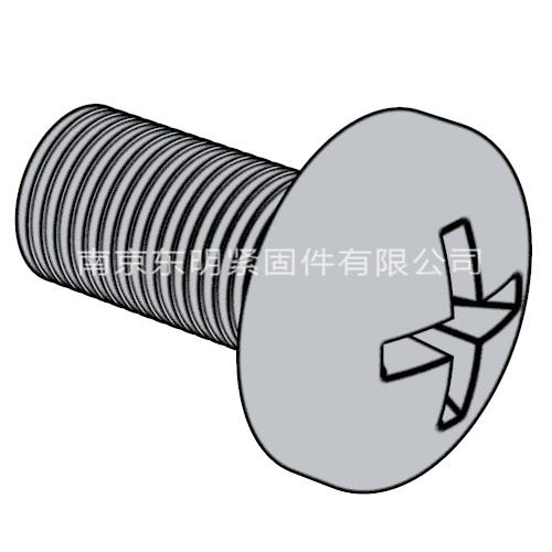 ISO 7045 - 2011 A級十字槽盤頭螺釘 H型或Z型