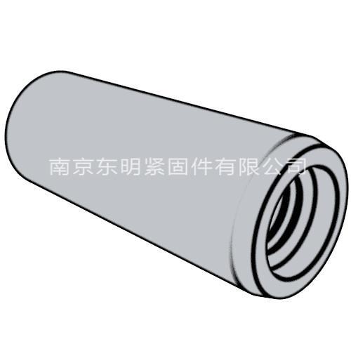 GB/T 118 - 2000 内螺纹圆锥销 A型和B型