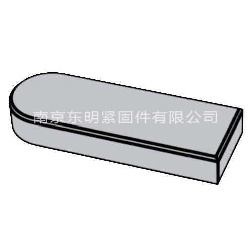 GB/T 1567 - 2003 薄型平键C