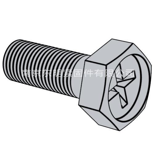 GB/ T 29.2 - 2013 六角头带十字槽螺栓